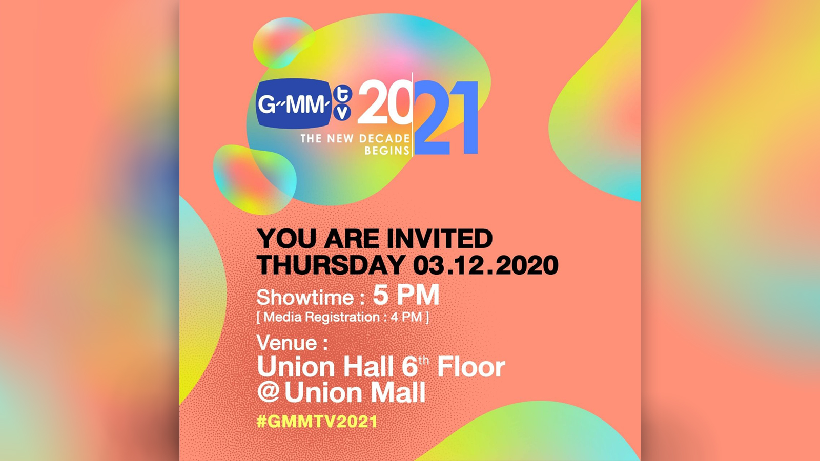 GMMTV 2021 The New Decade Begins